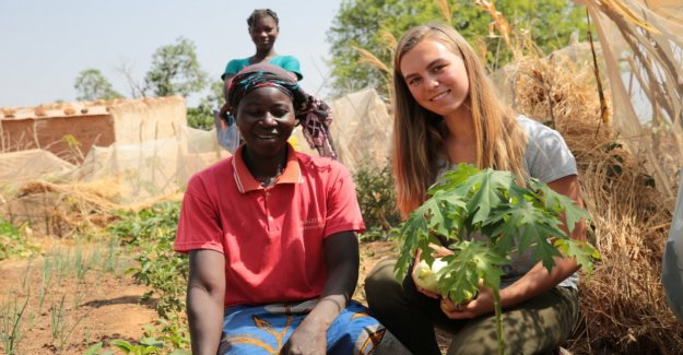 Student fights against Hunger in Africa