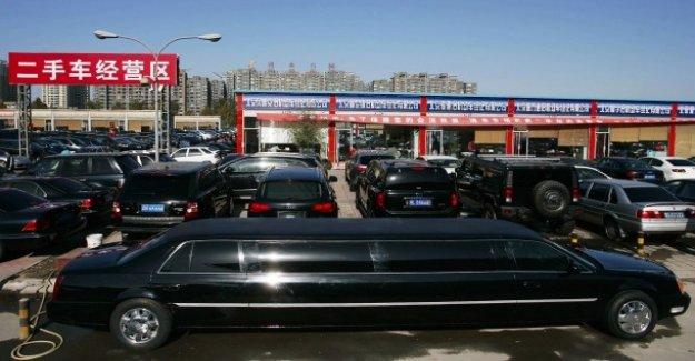 2,8% de moins: ventes d'automobiles en Chine, en baisse pour la première fois depuis deux Décennies