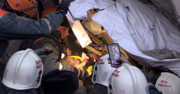 Effondrement d'un immeuble en Russie, lourd bilan redouté