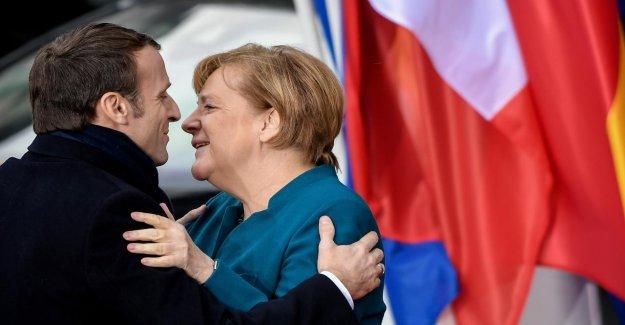 Aix-la-Traité: Merkel et Macron couronner leur Amitié