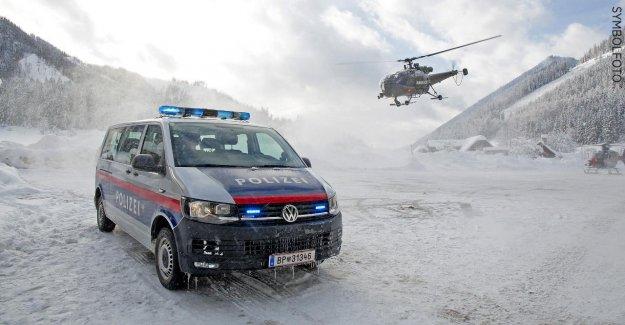 Autriche: Avalanche tue trois Allemands de Lech, à la Recherche de la quatrième impossible