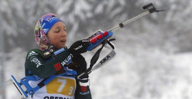 Biathlon-Relais Femmes: Deux tardive Peine de gâcher la Victoire de l'allemagne