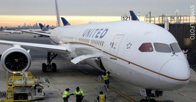 Canada: les Passagers de United Airlines 179 accrocher dans de la Glace, Insecte de fête