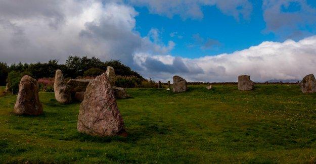 Cercle de pierres, en Écosse, établis comme étant des Faux – seulement 20 Ans, jeune