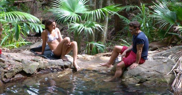 Chris Töpperwien méprise dans la Jungle sur Bastian Yotta - Vue