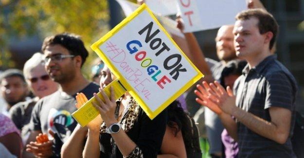 Contre Alphabet-Conseil d'administration: Google Groupe en raison de la Dissimulation sexuelle, le Harcèlement poursuivi