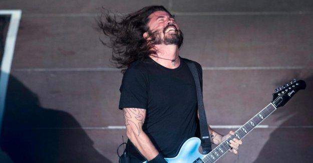 Dave Grohl: Foo-Fighters, le Chanteur déjà à nouveau la Scène de plaire