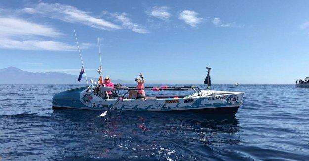 D'aviron de la Folie: Gabi veut solo de l'Atlantique à l'aviron - Vue