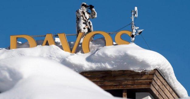 Davos: Encore ne ternit pas un Nuage, le Ciel lors du forum économique mondial