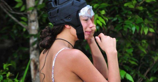 De la jungle Jour 3: Gisele pleure et refuse d'Examen