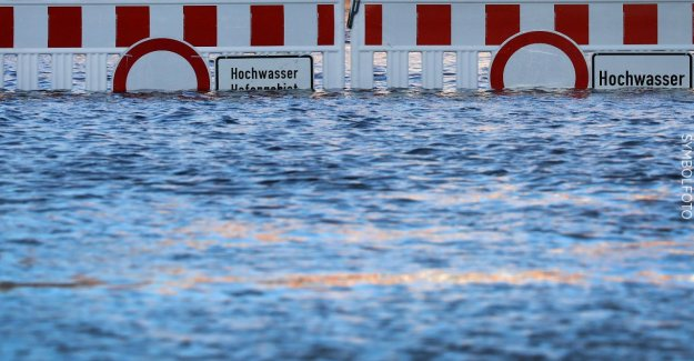 De la pluie et de Dégel: Dans le Bade-Wurtemberg, menacent de Crues