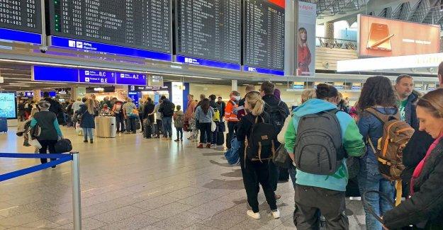 De l'aéroport: Verdi, annonce Mardi la Grève de Francfort