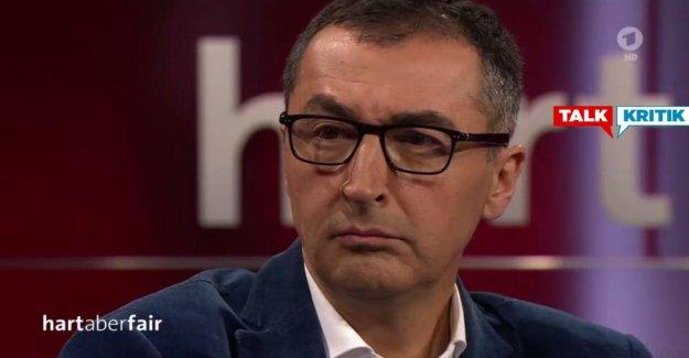 Dur mais juste: Frank Plasberg freine Cem Özdemir de