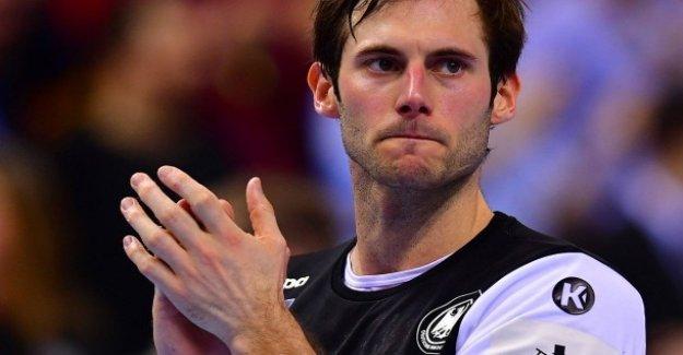 Handball-championnats du monde: La Douleur de l'Uwe Gensheimer