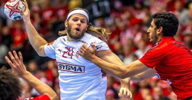 Handball-championnats du monde: le Danemark ne peut, même avec quatre Buts à perdre