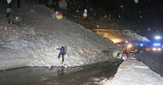 La neige fraîche et le danger d'avalanche: Seehofer, dans le chaos de neige