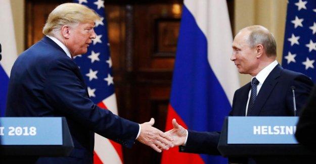 Le Président AMÉRICAIN Trump doit de Détails à propos de Poutine à la Réunion ont caché