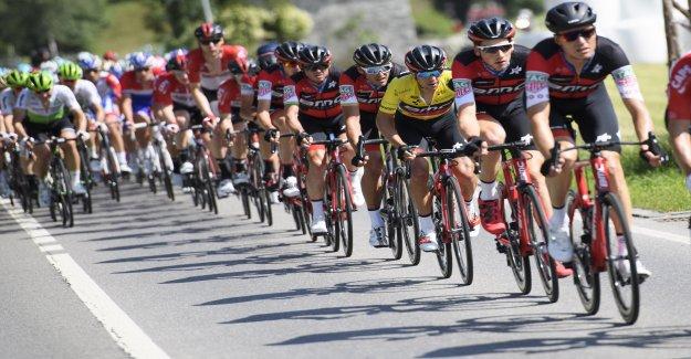 Les jeunes Suisses de Roue de la Nati ne peut à Tour de Suisse de démarrage de Vue