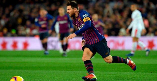 Liga: Messi est le cas de Barcelone, à la Victoire sur Eibar avec 400. Porte