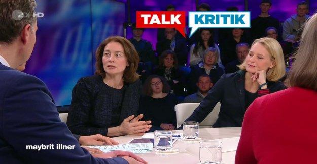 Maybrit Illner: Katarina Orge veut pas être Spaßbremse