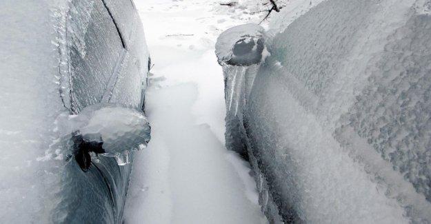 Portière de la voiture gelé, Vous pouvez le faire!