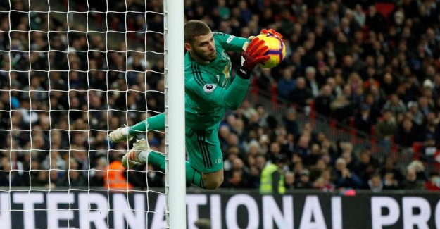 Premier League: David de Gea assure ManUnited Victoire contre Tottenham