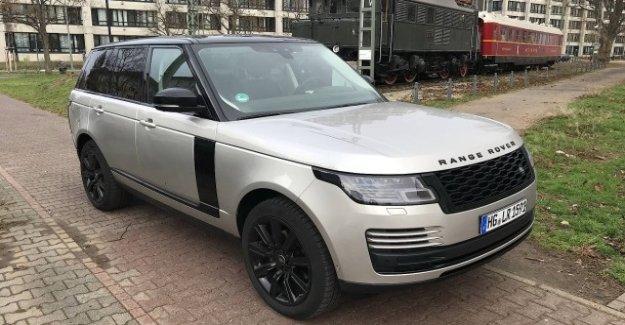 Rover Range Rover 3.0: Comme une Locomotive à Roues