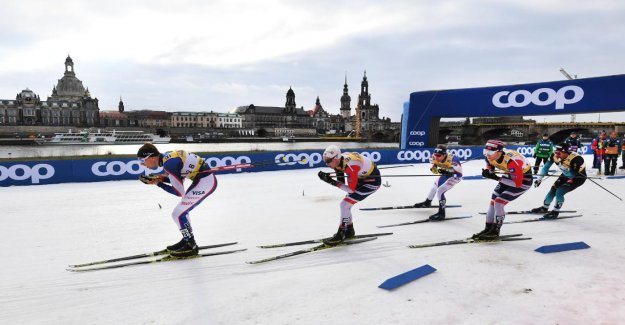 Spectateurs-Moins: il est allé lors de la Coupe du monde de Ski à Dresde, en outre,