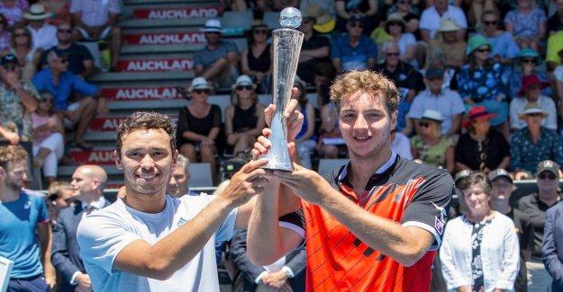 Tournoi ATP d'Auckland: Jan-Lennard Struff gagne à Double Titre