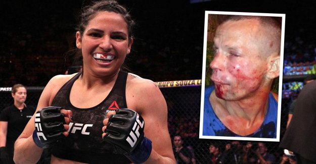 UFC: Cage Combattante Polyana Viana battu Voleurs