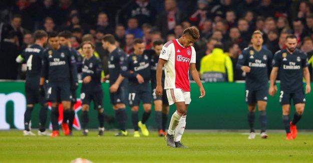 Ajax-Real Madrid 1:2: Ligue des Champions-Huitièmes de finale