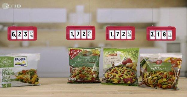 Alimentaire Test de Nelson Müller en colère: - c'Est plus cher vraiment mieux?
