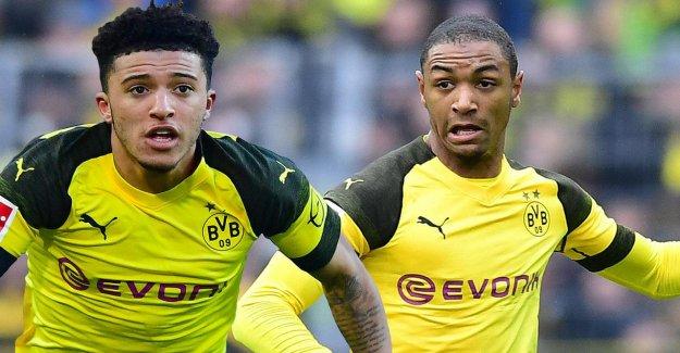 BVB: Jadon, Sancho et Abdou Diallo oublier Pass avant CL-Huitièmes de finale