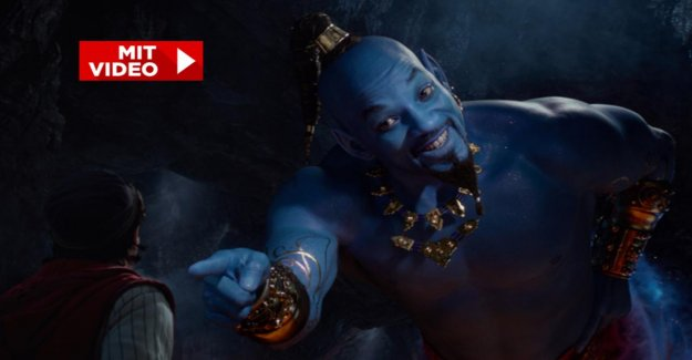 Bande-annonce de l' AladdinFilm: Will Smith fait son Miracle bleu