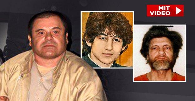 Boston et Una-Bomber: La nouvelle Prison Voisins de El Chapo