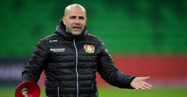 Comme avec l'Ajax 2017: Leverkusen-Entraîneur de Bosz commence 2. Final-Démarrage