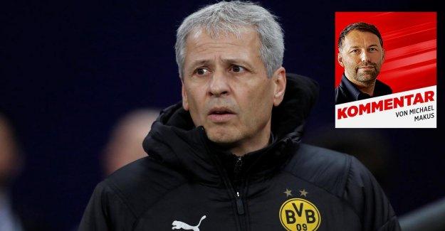 DORTMUND en Ligue des Champions: Favre a une Discipline de Problème!