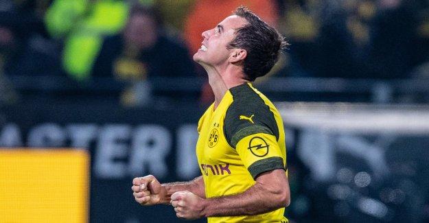 DORTMUND en Ligue des Champions: Mario Götze est soudainement indispensable!