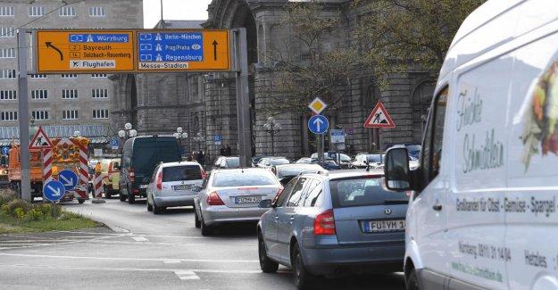 De nuremberg sur quatre Jours dans les Embouteillages!