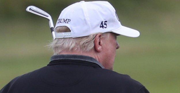 De sa Poche, payés: Trump construire un Complexe de Golf à la Maison Blanche