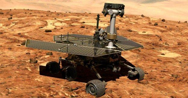 D'opportunité: Nasa y a de Mars Rover officiellement sur