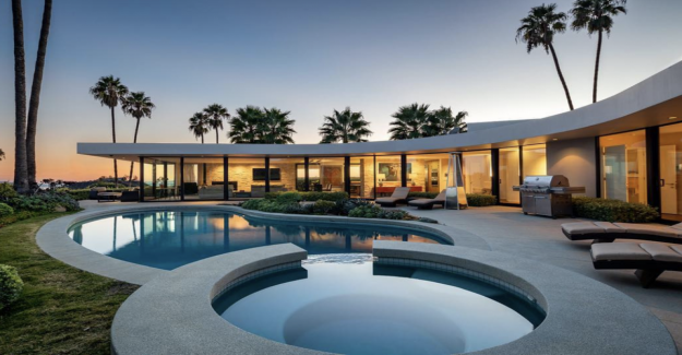 Elon Musk veut sa Villa de Luxe à Los Angeles débarrasser de - Vue