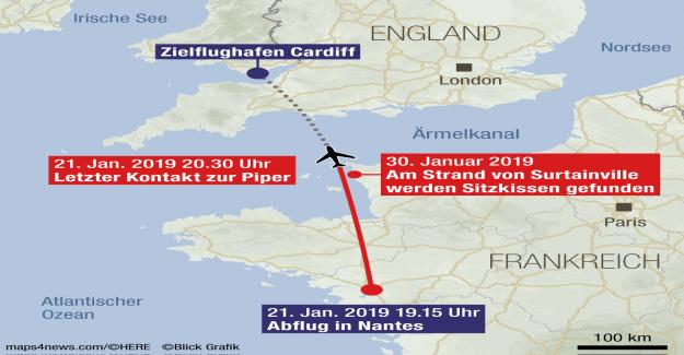 Emiliano Sala Crash: il est probable que les Sièges de l'Avion trouvé