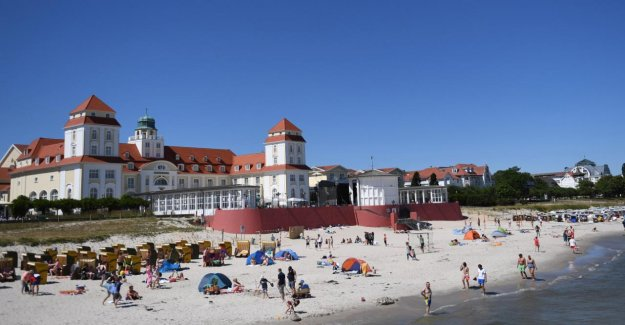 En allemagne, un Record Reiselaune: À l'est de l'Allemagne