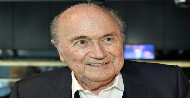 Football: le ministère public de la Confédération invite à Sepp Blatter, à l'avant - Vue