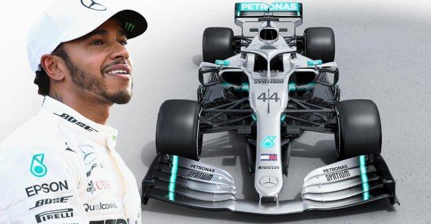 Formule 1: le Nouveau Mercedes de Lewis Hamilton présenté