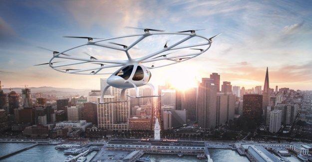 Francfort: Air-Taxis dans le Texte: AINSI, nous nous envolons à l'avenir de l'aéroport de maison