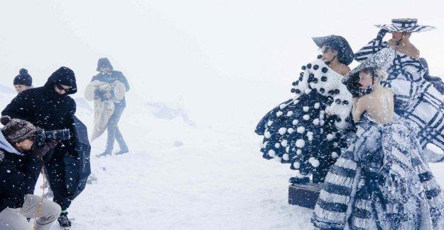 Klum froid dans GNTM: Adéli Froid, de la Torture, sur le Glacier