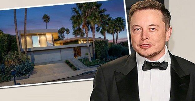 La Villa est à Vendre: Vue dans le Luxe le Kiosque de Tesla Boss Musk