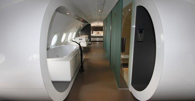 La plus belle Avion-Hôtel: Séjournez mais une fois dans le Cockpit!